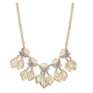INC Metal Petals Necklace